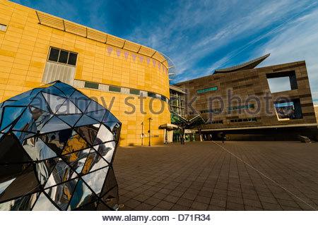 (Musée Te Papa de Nouvelle-Zélande), Welliington, Nouvelle-Zélande Banque D'Images