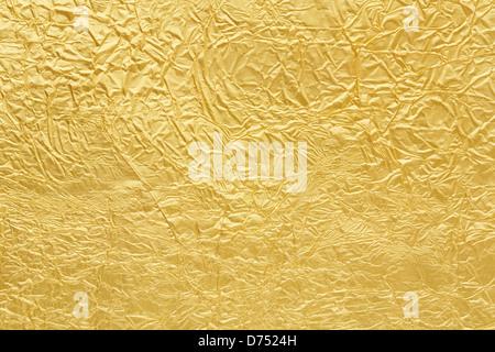 Texture de fond d'or Banque D'Images