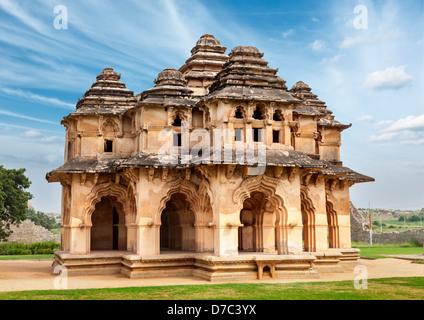 Lotus Mahal. Royal Centre. Hampi, Karnataka, Inde