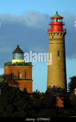 Allemagne, mer Baltique, Rügen, Ruegen, le cap Arkona, lighthouse Banque D'Images