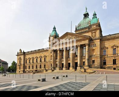 Bundesverwaltungsgericht Le Tribunal administratif fédéral de Leipzig Banque D'Images