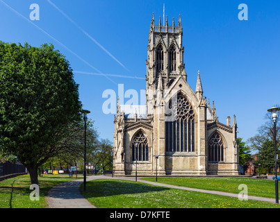 St George's Minster, Doncaster, South Yorkshire, Angleterre, Royaume-Uni