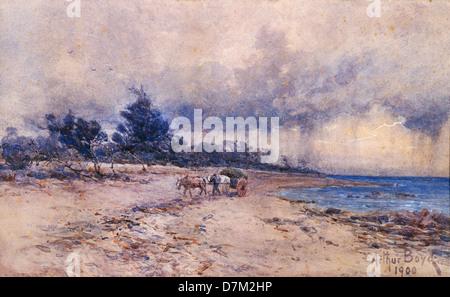 Arthur Merric Boyd, Sans titre. 1900 L'Aquarelle. National Gallery of Australia, Canberra. Banque D'Images