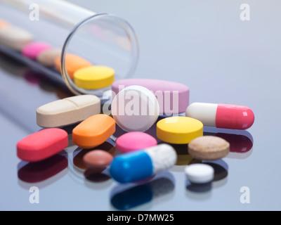 La recherche pharmaceutique, conceptual image Banque D'Images