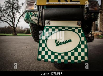 Scooter Vespa Banque D'Images