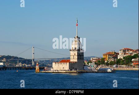 La Tour, aussi connu dans l'antiquité grecque et médiévale des périodes byzantine que Leandros , détroit du Bosphore. Banque D'Images