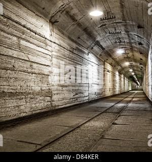Abri souterrain à partir de la guerre froide. L'Ukraine, Sevastopol Banque D'Images