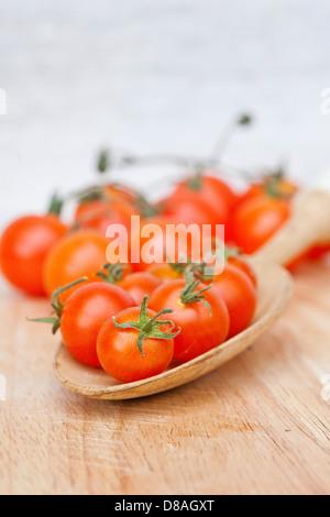 Types de tomates du patrimoine mixte en titre de coups. Banque D'Images