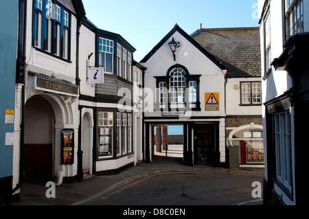 Bridge Street, Lyme Regis, Dorset, England, UK Banque D'Images