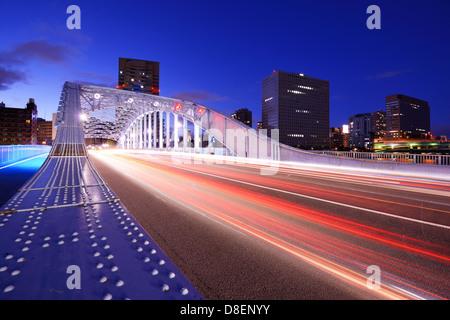 Bridge à Tokyo, Japon. Banque D'Images