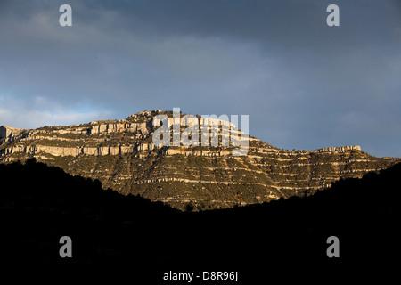 Dans la montagne de Montsant Priorat, Espagne Banque D'Images