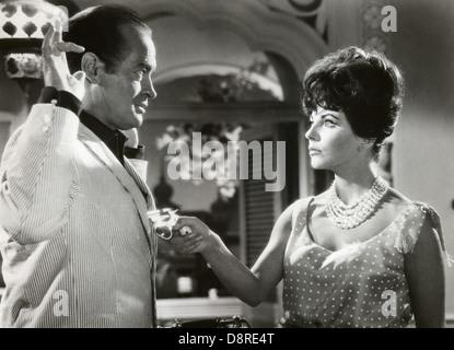 Bob Hope et Joan Collins sur-ensemble du film, 'En route vers Hong Kong', United Artists, 1962 Banque D'Images