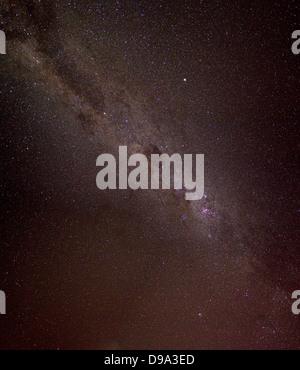 La Voie lactée est la galaxie qui contient notre système solaire, les étoiles, die Teststrasse 12, Sternenhimmel