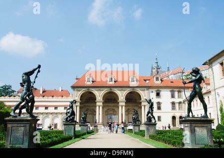 Palais Wallenstein, Prague, République Tchèque Banque D'Images