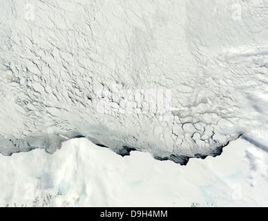 Au début du printemps dans l'Antarctique. Banque D'Images