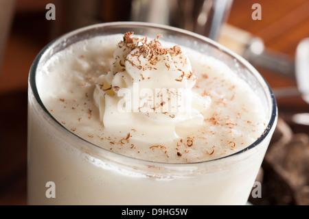 Milkshake riche et onctueuse de crème fouettée