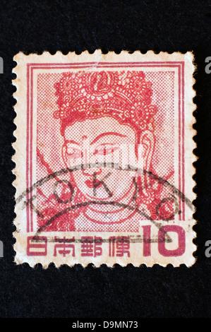 Vieux timbre japonais en studio