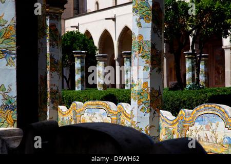 Monastero di Santa Chiara, à Naples, Naples, Campanie, Italie, Italia Banque D'Images