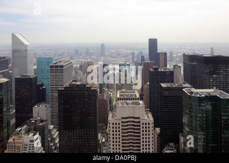 Manhattan skyline New York Banque D'Images