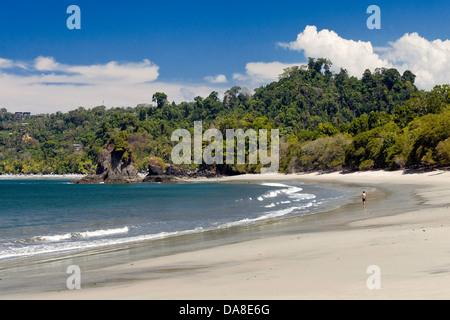 Playa Espadilla Sur, Parc National Manuel Antonio, Costa Rica Banque D'Images