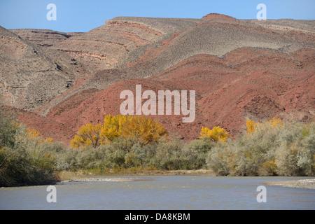 USA, United States, Amérique du Nord, l'Utah, l'Amérique du Nord, les quatre coins, Colorado, Plateau, river, Comté Banque D'Images