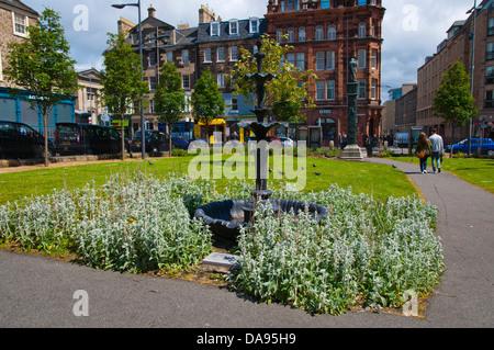 Nicholson square gardens Parc Vieille Ville Edimbourg Ecosse Grande-Bretagne Angleterre Europe Banque D'Images