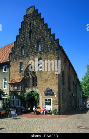 Alte Muenze In Der Altstadt Von Minden Weser Nordrhein Westfalen