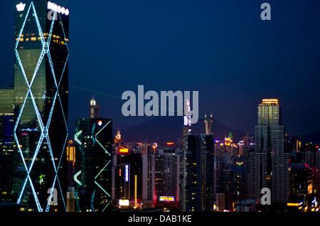 Skyline ,Chine Shenzhen Banque D'Images