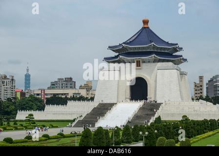 Chiang Kai-shek Memorial Hall, Taipei, Taiwan Banque D'Images