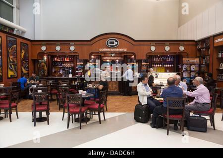 Café Coffee Beanery, aéroport de Doha, Qatar
