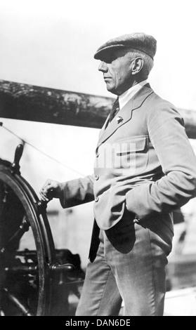 ROALD AMUNDSEN (1872-1928) explorateur polaire norvégien Banque D'Images