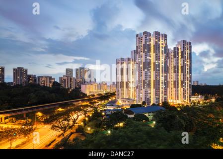 Singapore HDB Banque D'Images