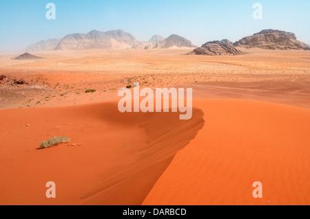 Le désert de Wadi Rum, Jordanie