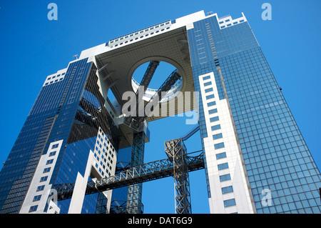 Umeda sky building, Osaka, Japon. Banque D'Images