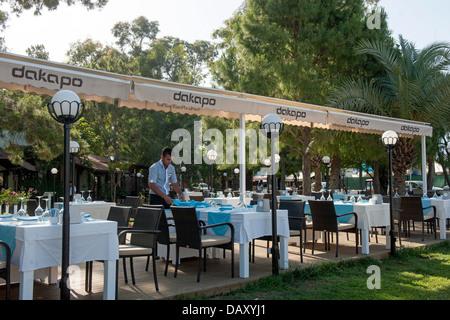 Türkei, Kemer, Moonlight Park, Restaurant Dakapo Banque D'Images