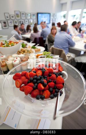 Chapiteau espace hôtels Radisson les championnats de Wimbledon 2012 Banque D'Images