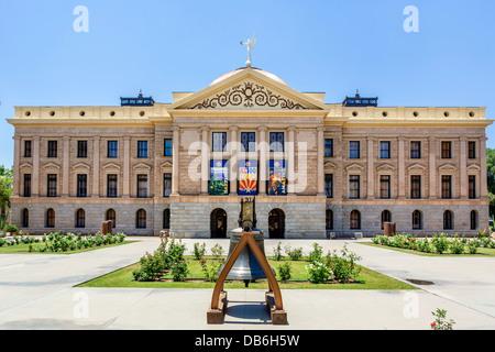 Le Arizona State Capitol building, Phoenix, Arizona, USA Banque D'Images