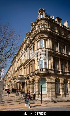 Royaume-uni, Angleterre, Birmingham, Colmore Row, Colmore Business District, un élégant bâtiment victorien tardif Banque D'Images
