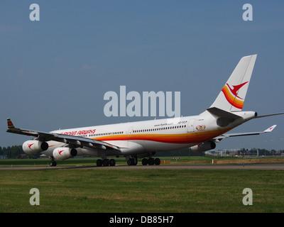 PZ-TCP Surinam Airways Airbus A340-311 - cn 0498 Banque D'Images
