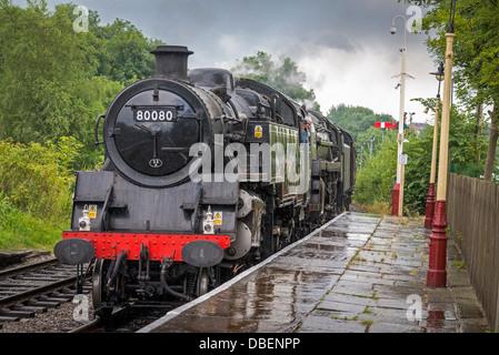 L'East Lancashire Railway célébration de l'anniversaire de la fin de la vapeur Banque D'Images