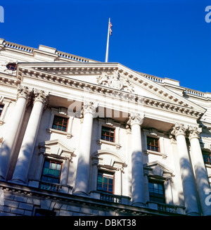 HM Treasury Building London England UK Banque D'Images