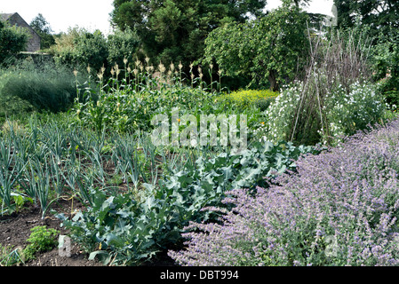 Cuisine Jardin à Ripley Castle North Yorkshire UK Banque D'Images