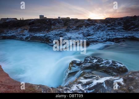 Cascade Godafoss, Islande, régions polaires