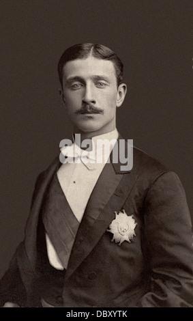 Louis-Napoléon Bonaparte (1856-1879), Prince Impérial, unique enfant de Napoléon III de France et son impératrice Banque D'Images