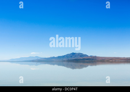 Antelope Island, Antelope Island State Park, Grand Lac Salé, Utah, USA