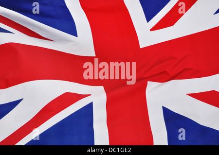Union Jack flag du Royaume-Uni Banque D'Images