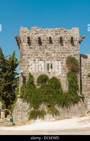 Le château de Cerinic en Škrip sur Venise, Italie Banque D'Images
