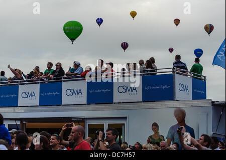 Bristol UK. 10 août, 2013. Le Bristol International Balloon Fiesta est maintenant dans sa 35e année et est le plus Banque D'Images