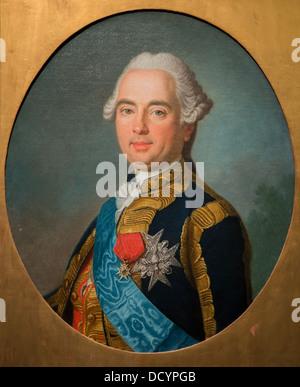 Victor-François, duc de Broglie, maréchal de France - Musée de l'armée - Hôtel National des Invalides huile sur Banque D'Images
