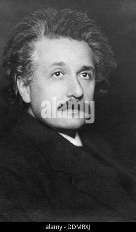 Albert Einstein (1879-1955), physicien allemand,. Banque D'Images